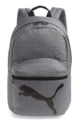 Puma Essential Backpack Grey Gray Black