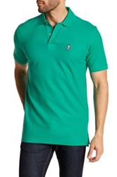 Psycho Bunny Pique Pima Cotton Short Sleeve Polo Green