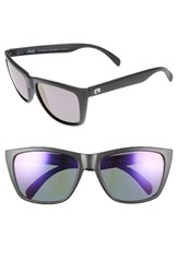 Rheos Men's Sapelos Floating 61Mm Polarized Sunglasses Gunmetal Purple Gunmetal Purple