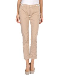 Htc Trousers Casual Trousers Women Beige