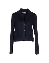 Galliano Suits And Jackets Blazers Women Dark Blue