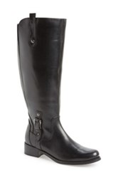 Blondo 'Venise' Waterproof Leather Riding Boot Women Wide Calf Black