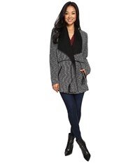 Tart Anisa Coat Neutral Black Women's Coat