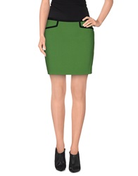 Scee By Twin Set Mini Skirts Green