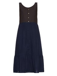 Visvim Kona Contrast Skirt Dress