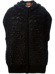 Missoni Short Sleeved Hooded Cardigan Black
