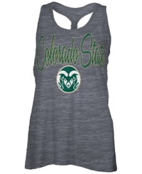 Royce Apparel Inc Women's Colorado State Rams Nora Tank Top Charcoal