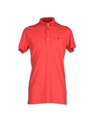 Macchia J Topwear Polo Shirts Men Red