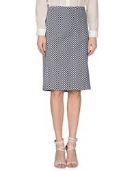 Fabrizio Lenzi Skirts Knee Length Skirts Women White