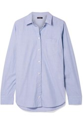 J.Crew Boy Cotton Shirt Blue