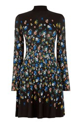 Oasis Daisy Placement Dress Multi Coloured