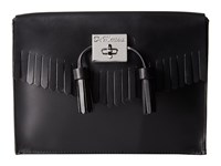 Dr. Martens Fringe Clutch Black Clutch Handbags