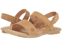 Born Tagum Tan Distressed Women's Dress Sandals