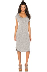 Riller And Fount Marisa Midi Dress Gray