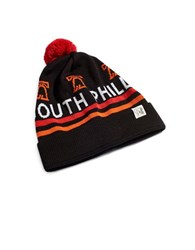 Tuck Shop Co. South Philly Knit Striped Beanie Black