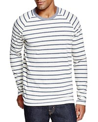 Splendid Stripe Raglan Tee Off White