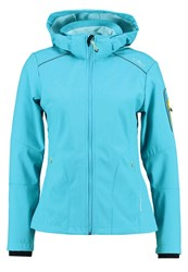 Cmp F.Lli Campagnolo Soft Shell Jacket Curacao Turquoise