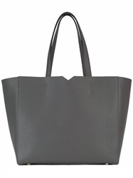 Valextra Shopping Tote Grey