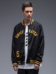 Undefeated Mesh Varsity Jacket