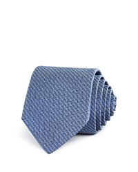 Theory Micro Dash Classic Tie 100 Bloomingdale's Exclusive Navy
