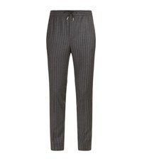 Sandro Wool Trousers Black