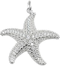 Thomas Sabo Glam And Soul Sterling Silver And Diamond Starfish Pendant