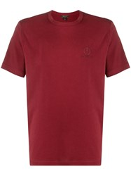 Belstaff Logo Embroidered Crew Neck T 60