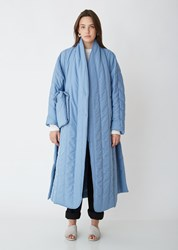 Henrik Vibskov Pipe Coat Cool Blue
