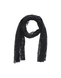 Just For You Accessories Oblong Scarves Women Black