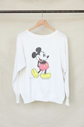 Urban Renewal Vintage Neon Mickey Mouse Crew Neck Sweatshirt Assorted