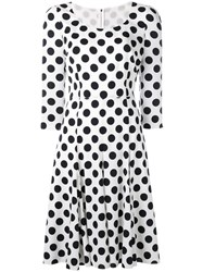 Dolce And Gabbana Polka Dot Dress White