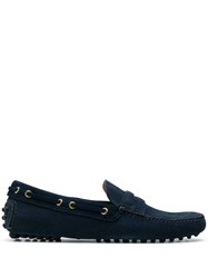 Car Shoe Boat Shoes Blue