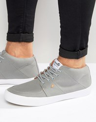 Boxfresh Amhurst Trainers In Grey Grey