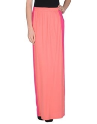 Byblos Long Skirts Coral