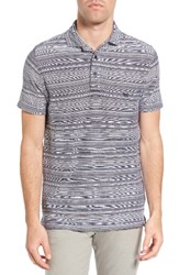 Rodd And Gunn Men's St Kilda Sports Fit Stripe Jersey Knit Polo