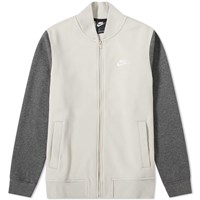 Nike Club Bomber Jacket Grey