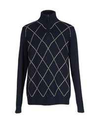 Marina Yachting Knitwear Turtlenecks Men Dark Blue