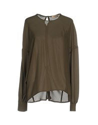 Maesta Blouses Military Green