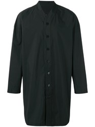 D.Gnak Long V Neck Shirt Black