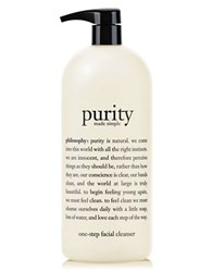 Philosophy Purity Made Simple One Step Facial Cleanser 32 Oz. No Color