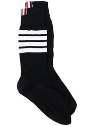 Thom Browne Lightweight Cotton Socks Black