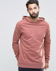 Only And Sons Hoodie Sweat Dusty Cedar Pink