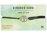 Alex And Ani Cosmic Love Kindred Cord Bracelet Token Of Luck Sterling Silver Bracelet