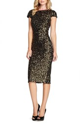 Women's Dress The Population 'Marcella' Open Back Sequin Body Con Dress