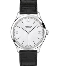 Montblanc Heritage Chronometrie 112515 Ultra Slim Watch Silver