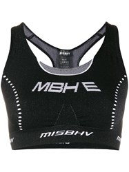 Misbhv Active Future Crop Top Black