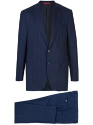 Isaia Striped Two Piece Suit 60