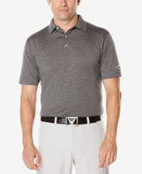 Callaway Men's Big And Tall Heathered Golf Polo Castlerock
