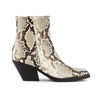 Acne Studios Braxton Ankle Boots Off White