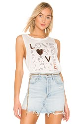 Spiritual Gangster Love Muscle Tank Cream